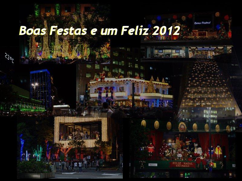 Boas Festas e um Feliz 2012