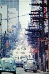 Rua Augusta  vista da Alameda Lorena (1969)
